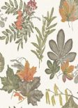 Into The Woods Mulberry Burnt Orange Wallpaper 98481 By Holden